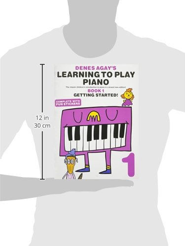 Learning To Play Piano Book 1