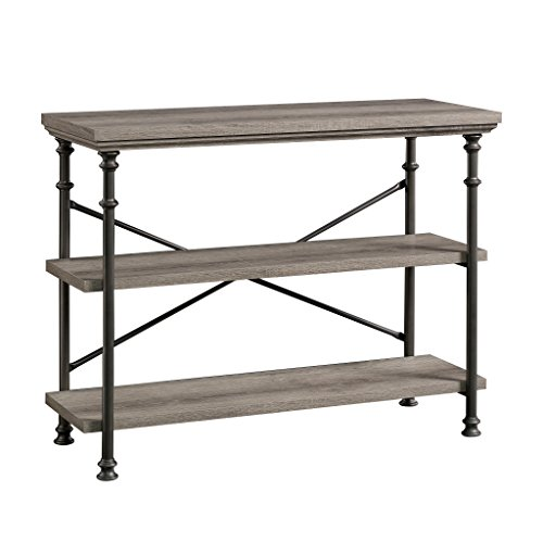 "Sauder 419230 Canal Street Anywhere Console, For TV's up to 42"", Northern Oak finish"