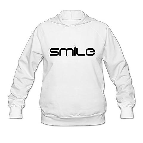 Wesley Mona Lisa Smile Wen's Sport Fleece Hoodie White XL (Lego Mona Lisa)