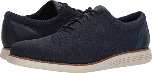 Rockport Mens Total Motion Sports Dress Woven Oxford New Dress Blues 10 W (EE)