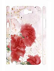 Hipster Individualized Kawaii Roses Phone Case for Samsung Galaxy Note 2 N7100