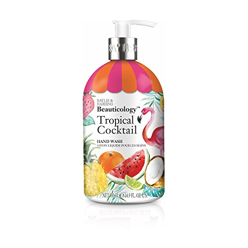 - Baylis & Harding Beauticology Tropical Cocktail 500ml Hand Wash, Pack Of 3, 583 Gram