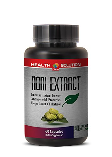 Noni leaf power - NONI 8:1 CONCENTRATE 500MG - strengthen the nervous system (1 Bottle) by Health Solution Prime