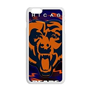 Chicago Bears Fashion Comstom Plastic case cover For Iphone 6 Plus