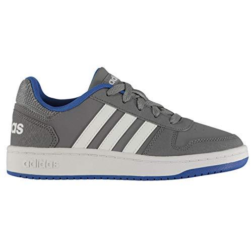 ftwwht Gris blue 2 grey ftwwht Hoops Grey blue 0 Adidas Baloncesto De Unisex Zapatos Niños 4OB6w85xq