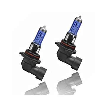 HB355W - Xenon Look lámpara halógena bombilla bombilla de repuesto set HB3 (9005) 55W