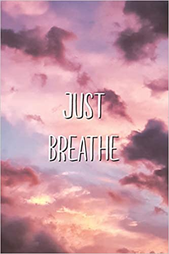 amazon com just breathe aesthetic meditation relaxation saying lined journal 9781701797956 aesthetext vibes books aesthetic meditation relaxation saying