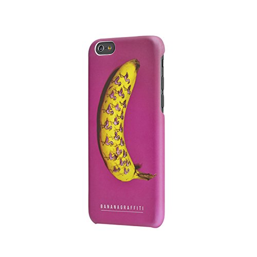 Aiino Coque pour iPhone 6 Motif banane avec dessins de flamants roses