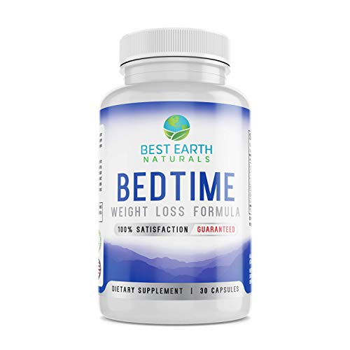 Bedtime Weight Loss Supplement – Natural Formula to Help Boost Metabolism, Suppress Appetite and Reduce Sugar Cravings…