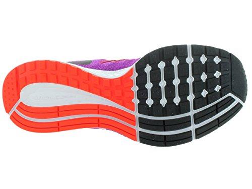 Nike Zoom Pegasus 32 (GS) - Zapatillas de running, Niñas Vivid Purple/Black/Brght Crmsn