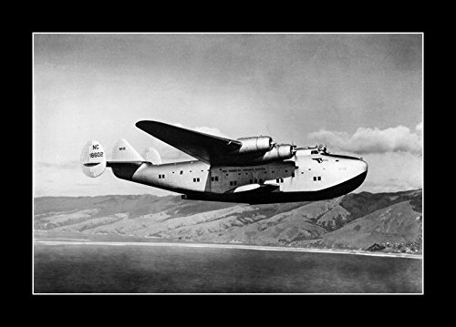 8 x 10 All Wood Framed Photo Boeing 314 Pan Am Clipper 1935 by Celebrity Framed Art (Image #2)
