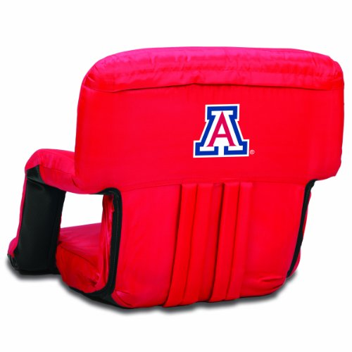 NCAA Arizona Wildcats Ventura Portable Reclining Seat, Red