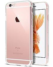 Case Buddy iPhone 6s Case, Transparent Clear Soft TPU Gel Cover