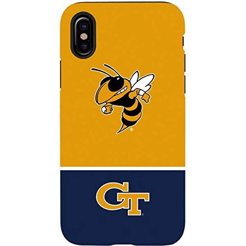 another chance d4ea2 df3ad Amazon.com: Georgia Tech Yellow Jackets iPhone XS Case - Collegiate ...