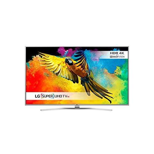 LG 49UH770V 49 inch Super Ultra HD 4K Smart TV webOS (2016 Model) - Silver