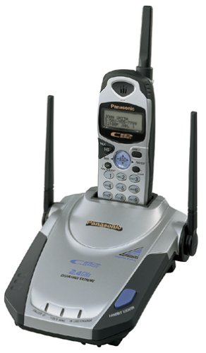 Panasonic KX-TG2553S 2.4 GHz DSS Cordless Phone with Caller ID (Silver)