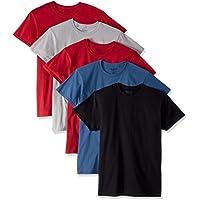 Gildan Men's Crew T-Shirts 5 Pack