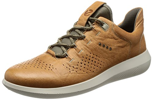 ECCO Men's Scinapse Tie Fashion Sneaker, Volluto, 45 EU/11-11.5 M US