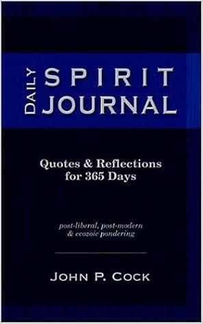 Daily Spirit Journal, Vol. I