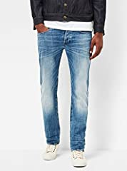The G-Star 3301 is a style neutral jean with classic 5-pocket construction. Stripped down to its purest form