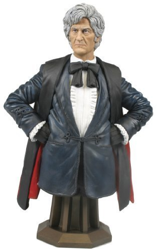 Titan Merchandise Doctor Who: Jon Pertwee As The Third Doctor Mini Bust by Titan ()