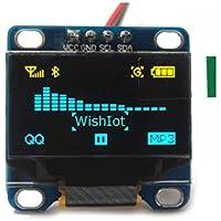 0.96 Inch Yellow Blue I2c IIC Serial Oled LCD Screen LED Display Module 12864 128X64 for Arduino Raspberry Pi Stim32 SCR WIshioT