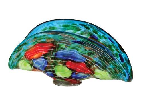 Dale Tiffany Condit Art Glass Vase (Jar Hand Glass Blown)
