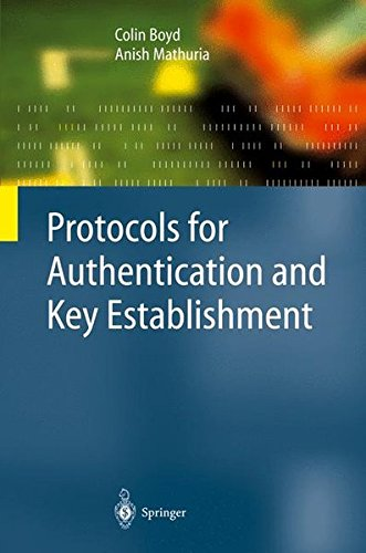 Protocols for Authentication and Key Establishment by Brand: Springer