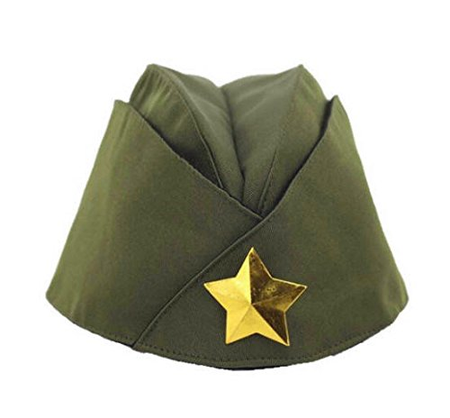 Russian Army Cap Tricorne Green Camo Bonnet Star Logo Women Sailor Military Stage Performance Dance Hats Chinese Boat Caps 5