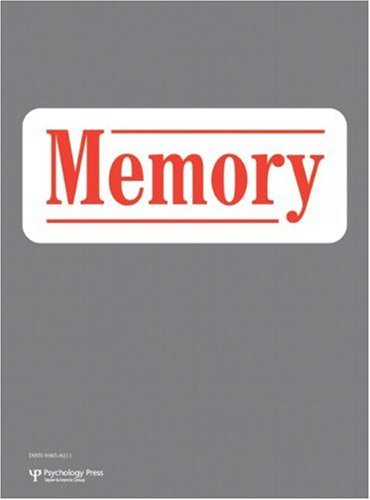Silence and Memory: A Special Issue of Memory (Special Issues of Memory)