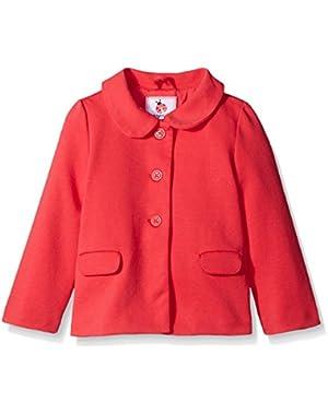 Baby Girls' Long-Sleeve Pink Coat