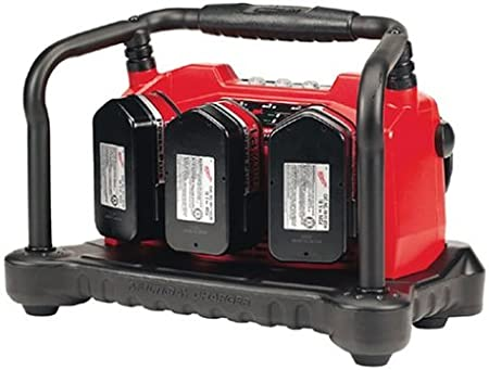 Milwaukee 48-59-1806 M18 18-Volt Six-Pack Sequential Compact Size Rapid Charger
