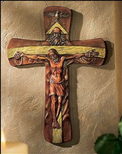 HOLY TRINITY WALL CROSS ()
