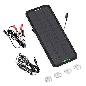 18V 7.5W Paquete de cargador de batería de coche solar ...