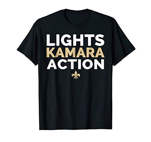 (Lights Kamara Action Funny Football Tshirt New Orleans)