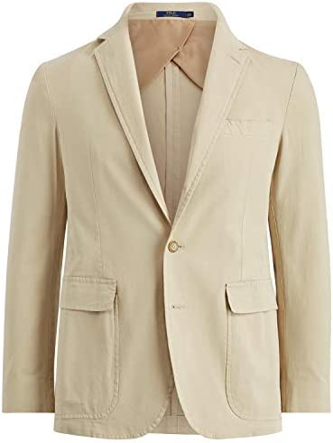 [해외]Polo Ralph Lauren Mens Office Wear Professional Three-Button Blazer Tan 40R / Polo Ralph Lauren Mens Office Wear Professional Three-Button Blazer Tan 40R
