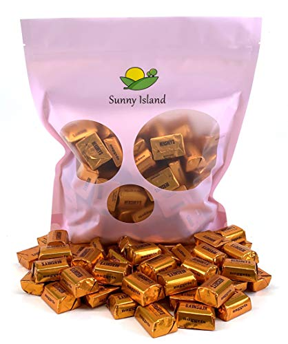 Sunny Island Bulk - Hershey's Nuggets Extra Creamy Milk Chocolate with Toffee and Almonds Candy, 2 Pounds Bag