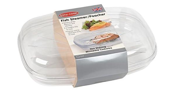 Easy-Cook - Recipiente para Cocina al Vapor en microondas ...