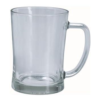 IKEA MJOD - jarra de cerveza, vidrio transparente - 60 cl: Amazon.es: Hogar