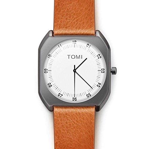 Price comparison product image Simple Retro Square Quartz Watch Santos Kim
