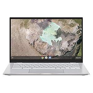 ASUS 14 inch Chromebook C425TA Full HD Laptop (Intel Core M3-8100Y, 4 GB RAM, 64 GB eMMC, Chrome OS, Backlit Keyboard)