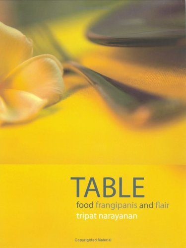 Table: Food Frangipanis And Flair