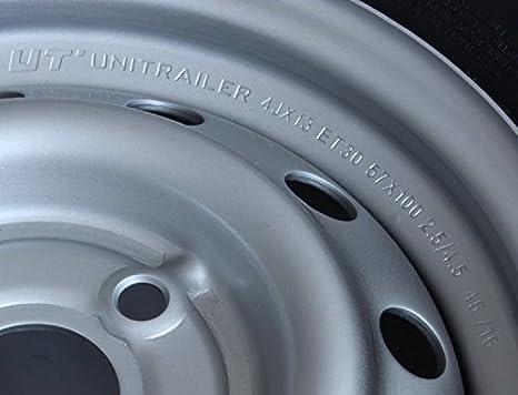 UNITRAILER Steel Wheel R13 4Jx13 Inch LK 4x100 for Car Trailers