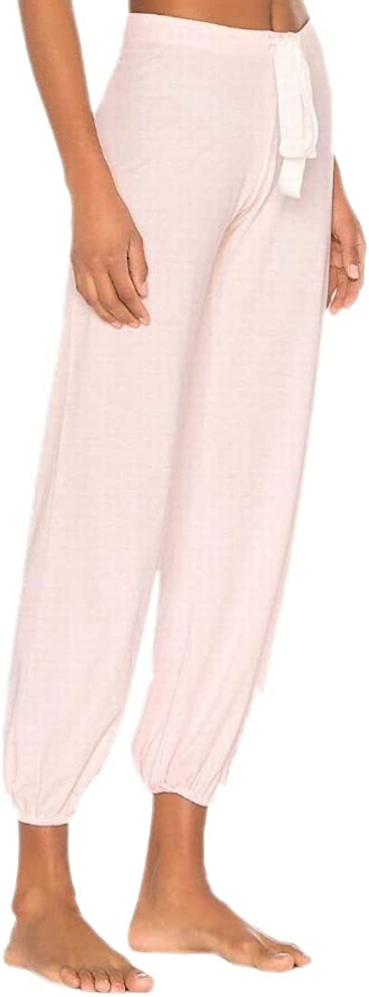 M/&S/&W Womens Cotton Blend Stretch Lounge Pants Bottoms with Drawstring