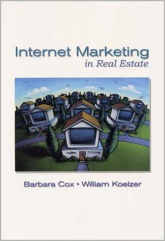Read Internet Marketing in Real Estate PDF, azw (Kindle), ePub, doc, mobi