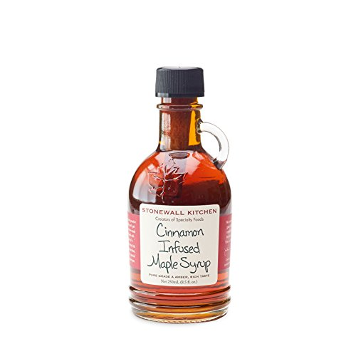 (Stonewall Kitchen Cinnamon Infused Maple Syrup, 8.5 oz. )