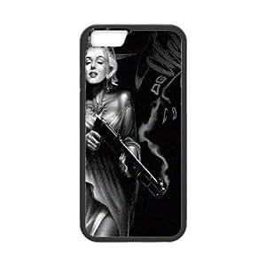Steve-Brady Phone case Super Star Marilyn Monroe For Apple iphone 5c inch screen Cases Pattern-1