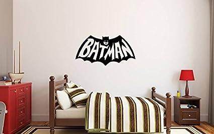 Decorazioni Camere Da Letto Moderne : Io sono batman sticker bella decorazione per bambini home