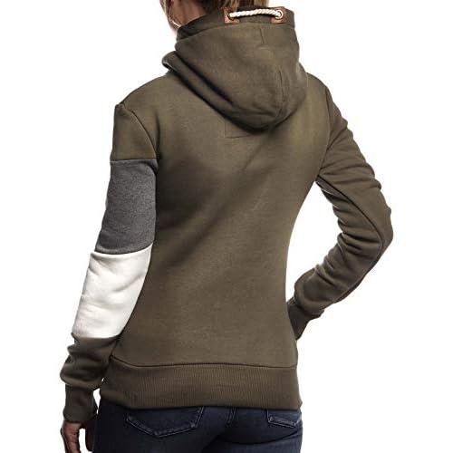 Kostenloser Versand LEIF NELSON Damen Pullover Hoodie Kapuze