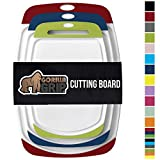 Gorilla Grip Original Oversized Cutting Board, 3